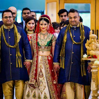 Hindu wedding photographer in London