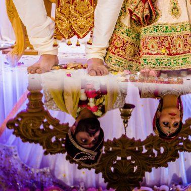 Hindu wedding in Harrow- kp hall