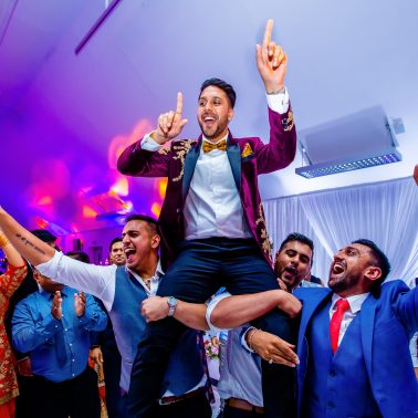 asian wedding decor in london