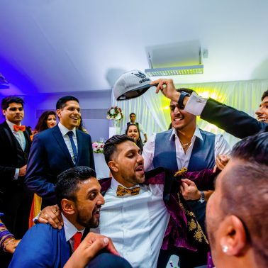 Real natural and fun moments at wedding