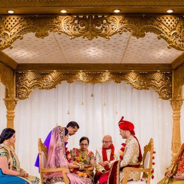 Indian wedding at oshwal centre