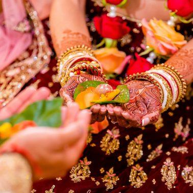 Oshwal centre-hindu wedding photography | olivine studios