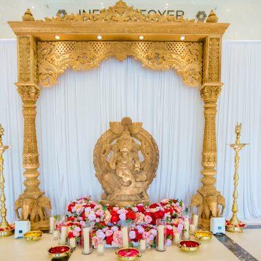 Oshwal Centre wedding decor- Avari Events