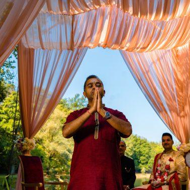 Ram Pandey Hindu wedding priest