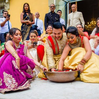 Indian wedding photography in Italy