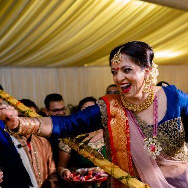 Nose pinch at Indian weddings