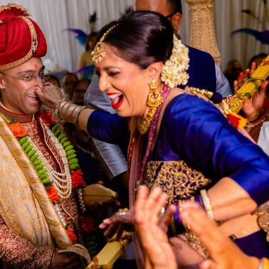 Nose Pinch at Indian wedding