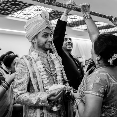 Indian wedding at Willesden Mandir
