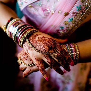 Indian wedding at Willesden mandir