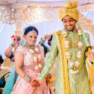 Hindu wedding pheras