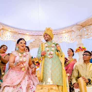 Hindu wedding ceremonies at Willesden Mandir