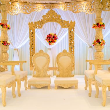 Hindu wedding decor company Shagun