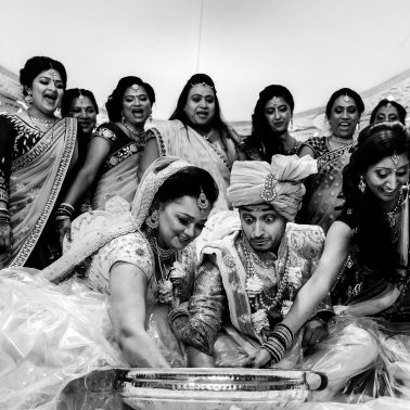 Hindu wedding at Willesden Mandir