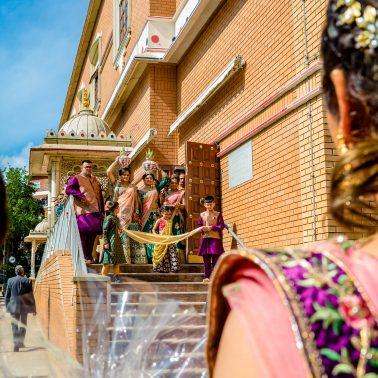 Hindu wedding at Willesden Temple